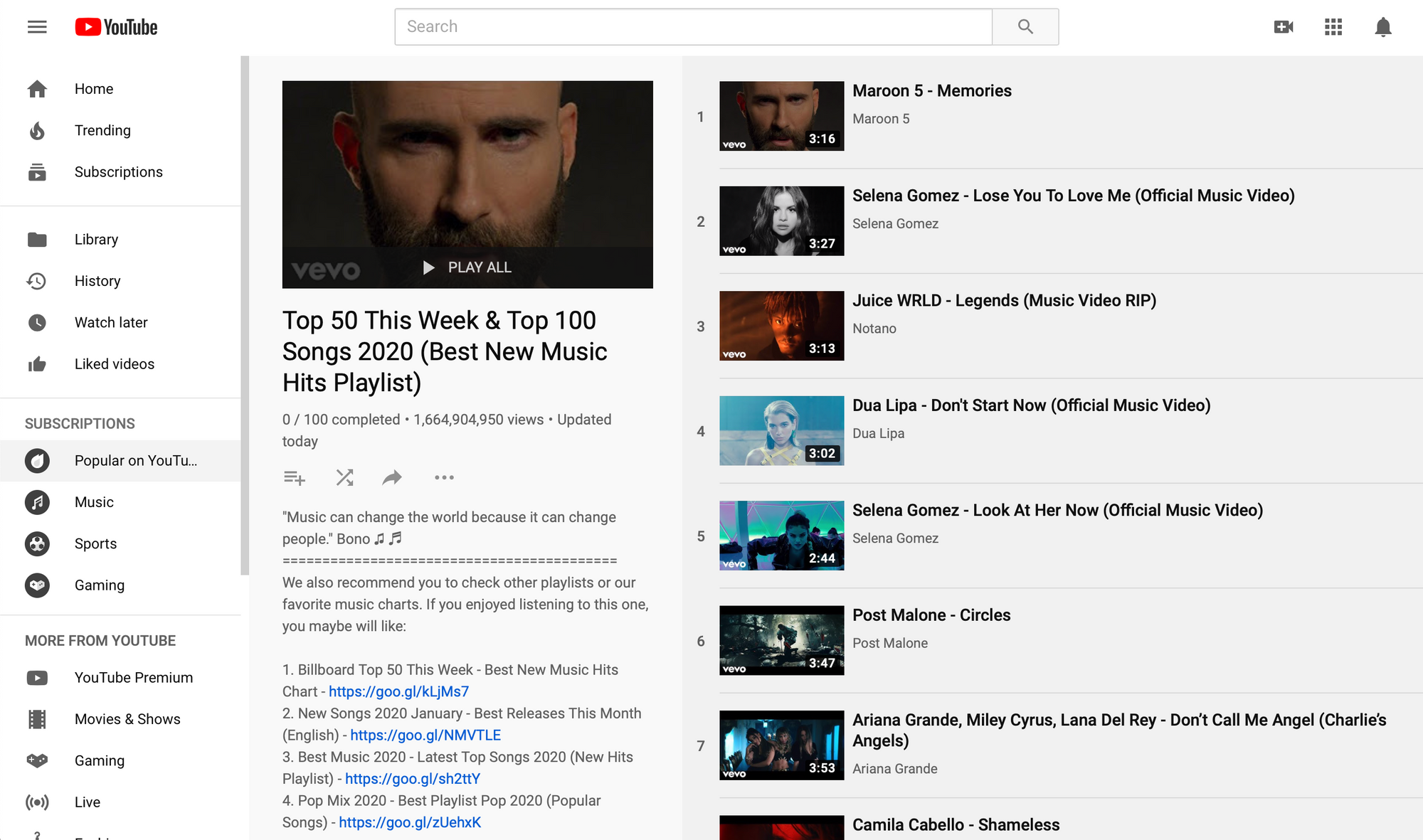 Top Youtube Playlists To Get Your Music On Hypebot