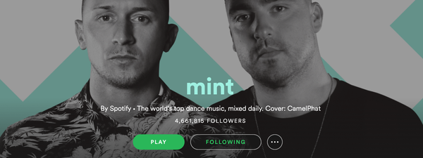 Minty Fresh: Spotify Makes a New Home for EDM